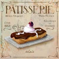Patisserie III Fine Art Print