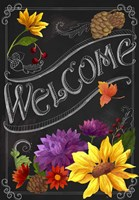 Chalkboard Welcome Fine Art Print