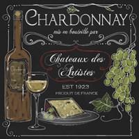 Wine Chalkboard IV Fine Art Print