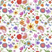 Petals & Paisley Fine Art Print