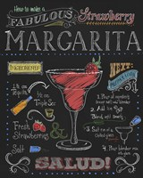 Strawberry Margarita Fine Art Print
