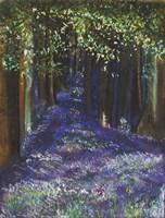 Dreaming Of Blue Bells Fine Art Print