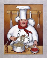 Chef IV Fine Art Print