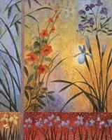 Floral Symphony I Framed Print