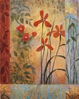 Floral Symphony II Framed Print