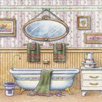 In The Bath II Fine Art Print