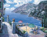 The Amalfi Coast Fine Art Print