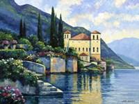 Reflections Of Lago Maggiore Fine Art Print