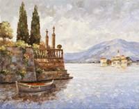 Evening Light On Lake Como Fine Art Print