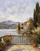 Lake Lugono Fine Art Print