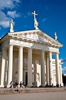 Arch-Cathedral Basilica, Vilnius, Lithuania I Fine Art Print