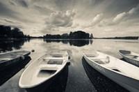 Lake Galve, Trakai Historical National Park, Lithuania II Fine Art Print