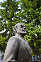 Lithuania, Grutas Park, Statue of Lenin II Fine Art Print