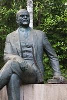 Lithuania, Grutas Park, Statue of Lenin III Fine Art Print