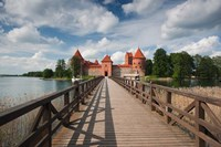 Lithuania, Trakai Historical NP, Island Castle Fine Art Print