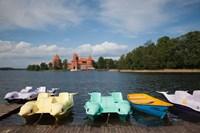 Lithuania, Trakai Historical NP, Lake Galve Fine Art Print
