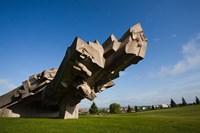 Ninth Fort Monument, Kaunas, Central Lithuania, Lithuania Fine Art Print