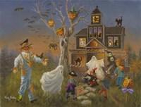 Spooky Halloween Fine Art Print