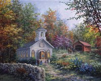 Worship In The Country Fine Art Print