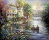 Evening Reflections Fine Art Print