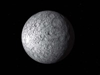 Ceres, a large Asteroid Fine Art Print