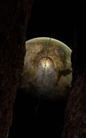 Debris around an Extraterrestrial Planet hit by an Asteroid Fine Art Print