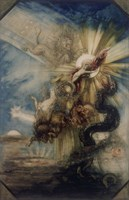Fall Of Phaeton Fine Art Print
