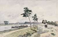 The Seine at Argenteuil,  c. 1867 Fine Art Print