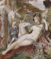 The Unicorns, 1885 Fine Art Print