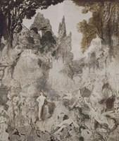 Les Chimeres, 1884 Fine Art Print