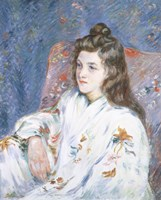 A Portrait Of the Artist's Daughter Fine Art Print