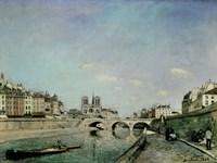 Paris, 1864 Fine Art Print