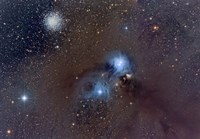 Corona Australis, a Constellation in the Southern Hemisphere Fine Art Print