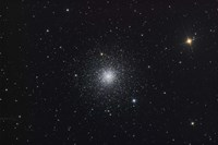 Messier 3, a globular cluster in the Constellation Canes Venatici Fine Art Print