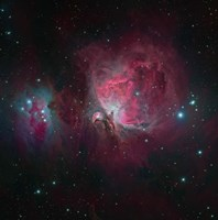 Messier 42, the Orion Nebula I Fine Art Print
