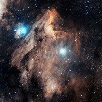 Pelican Nebula III Fine Art Print
