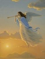 Angel Of The Dawn Framed Print