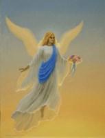 Morning Angel Framed Print