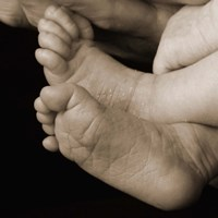 Baker Baby Feet Fine Art Print