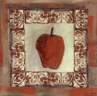 Sketched Apple Fine Art Print