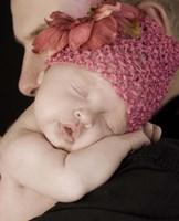 Baby On Shoulder Fine Art Print
