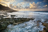 Kaena Point Sunset Fine Art Print
