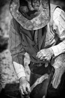 Cowboy and His Hat Fine Art Print