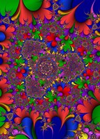 Floral II Framed Print