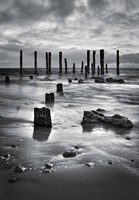 Port Willunga BW Fine Art Print