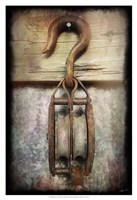 Block & Tackle I Framed Print