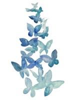 Butterfly Falls I Framed Print