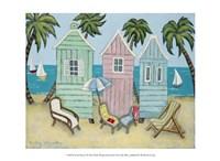 At the Beach I Fine Art Print