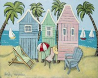 At the Beach II Fine Art Print