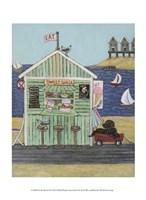 At the Beach VI Fine Art Print
